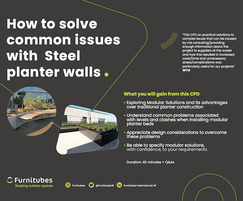 How to solve common issues with Steel planter walls