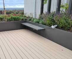 AKRI® 300 raised steel planter system