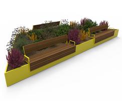 AKRI® 300 raised planter system
