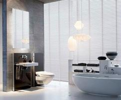 geberit aquaclean 8000plus wall hung shower toilet geberit esi. Black Bedroom Furniture Sets. Home Design Ideas