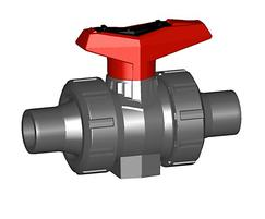 Ball valve type 546 PVC-U