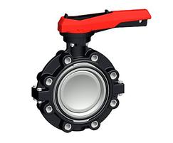 Lugstyle butterfly valve type 578 PVC-C