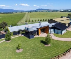 COOL-FIT 4.0 preinsulated pipes for Australian winery