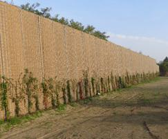 Eco Barrier ready for plant growth