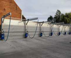 POLYSoundBlok® recycled plastic noise barrier