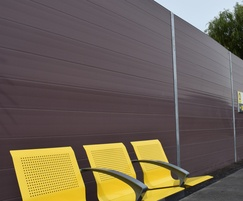 POLYSoundBlok recycled plastic acoustic barrier