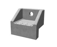 Althon rectangular precast concrete headwalls