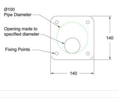 316 stainless steel orifice plates - flat