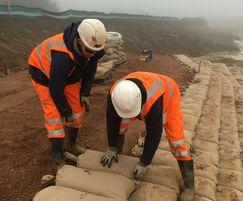 Greenfix Soil Stabilisation & Erosion Control: Envirolok vegetated Bag Installation