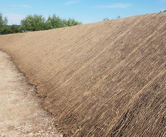 7GeoJute 500 as part of slope stabilisation project