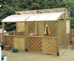 Bodsham CofE Primary School outdoor play area