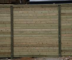 12K Acoustic Envirofence acoustic fencing