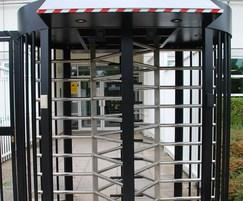 Double pedestrian turnstiles are also available