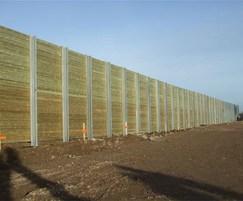 Jakoustic® Commercial /  Highway acoustic fencing