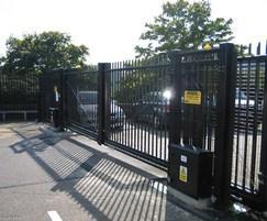 Barbican sliding gate
