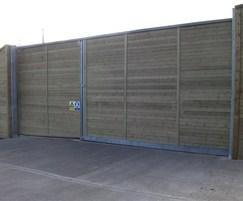 Jakoustic® sliding gate