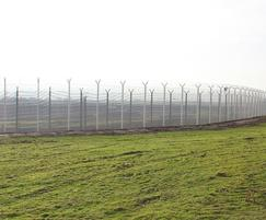 Eurotunnel perimeter secured with 358 mesh fencing