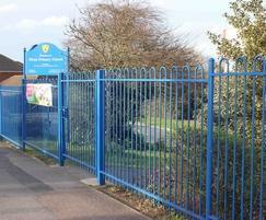 Bow Top Fencing at Blean School