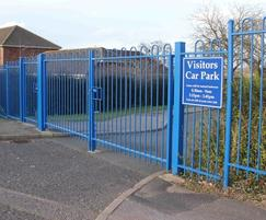 Double Leaf Swing Gates at Blean School