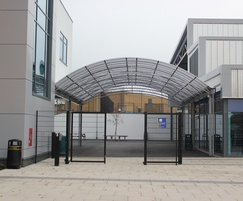 Euroguard double leaf gates
