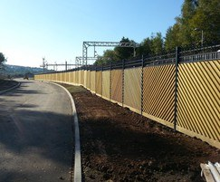 Tri-Guard® railings for transport project