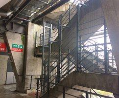 Seucir Mesh on stairwell