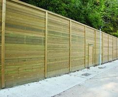 Acoustic Jakoustic® Reflective fencing