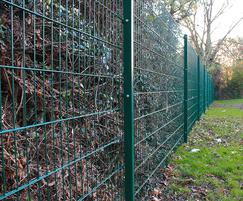 Euroguard® Flatform Medium fencing - green RAL 6005