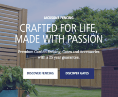 Jacksons Fencing: New website for Jacksons Fencing RESIDENTIAL