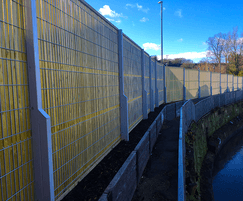 Euroguard Combi fencing (view from the back)