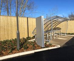 Euroguard Combi high-security fencing