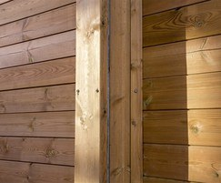 Jakoustic® uses pressure treated planed timber boards