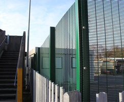 Security school fencing