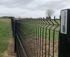 EuroGuard® Regular perimeter fencing for school