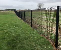 EuroGuard® Regular welded mesh fencing