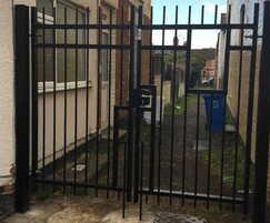Alleyway gates