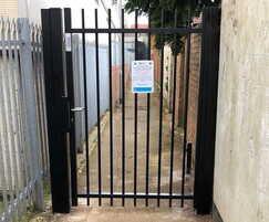 Barbican anti-crime gate