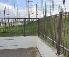Sentry steel fencing