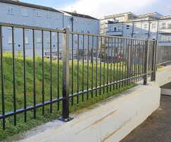 Sentry® metal wall-top railings for housing