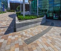 Royal Grey granite for kerbs walls and copings