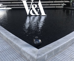 V & A Dundee with granite hard landscaping