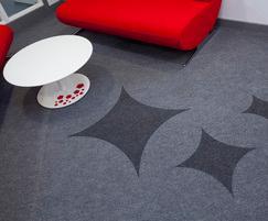 Supacord fibre-bonded carpet