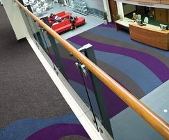 Carpet in school reception area