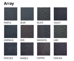 Array Carpet Tiles are available in 12 colours