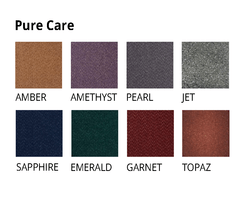 Pure Care Tufted Carpets are available in 8 colours
