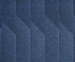 Odyssey fibre bonded carpet - Indigo