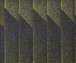Odyssey fibre bonded carpet - Lime