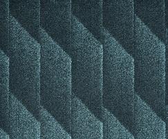Odyssey fibre bonded carpet - Peacock