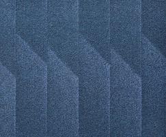 Odyssey fibre bonded carpet - Pacific Blue