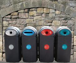 Eco-Bin outdoor recycling bins